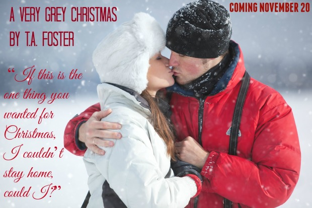 Young couple kissing winter outdoors portrait.