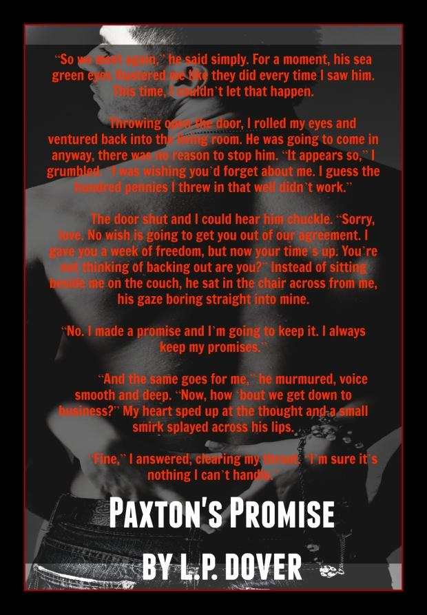 Paxton's Promise Teaser 1